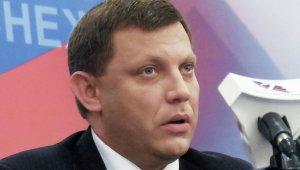 DPR Prime Minister Alexander Zakharchekno