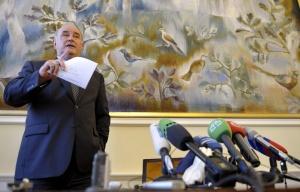 Russian Deputy Foreign Minister Grigory Karasin (--ITAR-TASS/EPA/Laurent Gillieron)