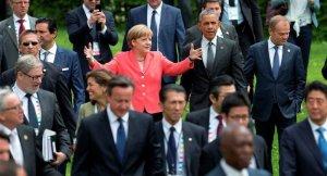 Angela Merkel plays center stage at 2015 G7 summit, Krun, Germany (--Sputnik/AP)