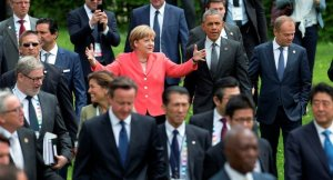Angela Merkel plays center stage at 2015 G7 summit, Krun, Germany (--Sputnik/AP)