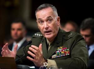 US Marine General Joseph Dunford