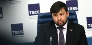 Denis Pushilin (--TASS)
