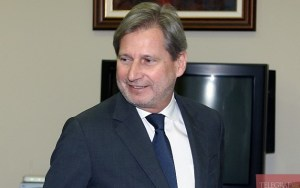 European Commissioner Johannes Hahn (--independent.mk)