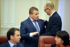 Volodymyr Demchyshyn, Arseniy Yatsenyuk (--uatoday.tv)