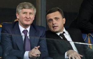 Oligarchs Rinat Ahmetov and Sergey Levochkin (--hvylya.net)