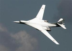 Russian TU-160 strategic bomber (--Reuters/Viktor Korotayev)