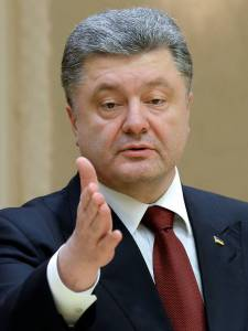Petro Poroshenko (--The Independent)
