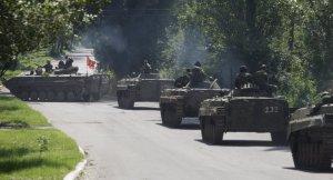 Donetsk militia, Gorlovka (--Sputnik)