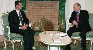 Bashar Assad, Vladimir Putin (--Sputnik)