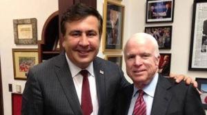 Mikheil Saakashvili, John McCain (--rt.com)