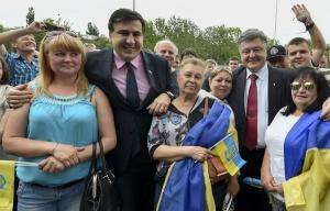 Mikhail Saakashvili, Petro Poroshenko (--powerpolitics.ro)