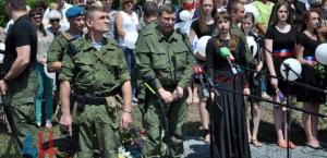 Alexander Zakharchenko, MH17 Memorial Service (--DAN)