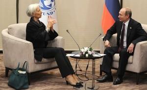 Christine Lagarde, Vladimir Putin (--SCF)