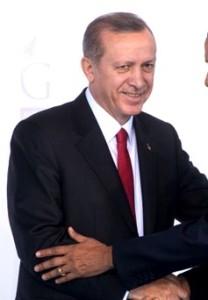 Recep Tayyip Erdogan (Obama not shown)