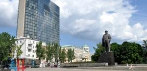 Lenin Square in Donetsk (--DAN)