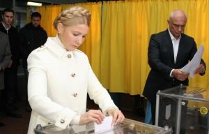 Yulia Tymoshenko andhusband Alexander (--Valentin Sprinchak/TASS)