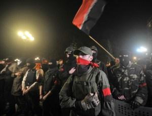 Right Sector (--AFP/Genya Savilov)