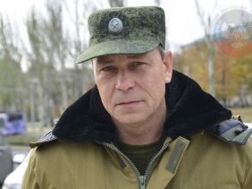 Eduard Basurin, Kominternovo, Dec 27, 2015 (--DNI News)