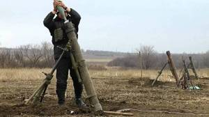 A mortar is a tube-like cannon which fires an explosive projectile, with a range of up to 3 miles.