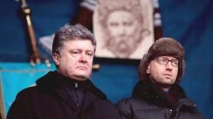 Petro Poroshenko, Arseney Yatsenyuk (--Fort Russ)