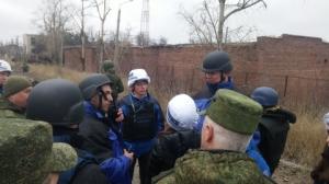 OSCE Head visited the target of Ukrainian attacks: Yasinovataya Checkpoint (--dninews.com)