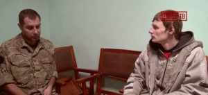 EoT DPR TV. Militiamen return from Ukrainian captivity. Feb 6, 2015. Report filmed by Altay.