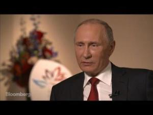 Vladimir Putin - Click for Video (--Bloomberg.com)