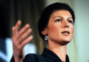 Sahra Wagenknecht (--Hannoversche Allgemeine Zeitung)