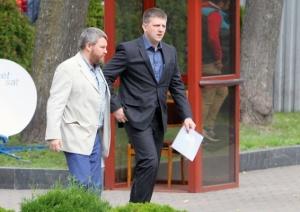 Former DPR/LPR Parliament Heads Andrey Purgin and Aleksey Karyakin,.July 2015 (--eadao;u/rg.ru)