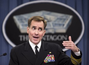Admiral John Kirby