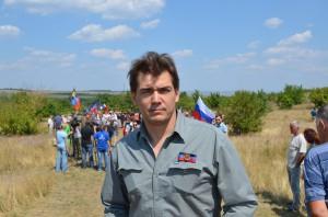 Janus Putkonen, Finnish journalist, Donetsk, August 2015