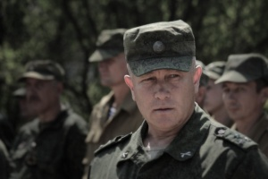 Chief of Dept. of LPR People's Militia Colonel Oleg Anashchenko (--Slavyangrad)