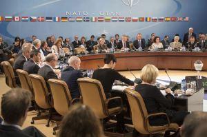 Defense Secretary Ash Carter attends North Atlantic Council meeting, NATO headquarters, Brussels, Oct. 26, 2016. (--DoD/Brigitte N. Brantley)