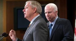 Lindsay Graham, John McCain (--Politicao/AP/Scott Applewhite)