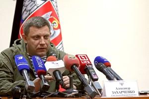 DPR President Alexander Zakharchenko